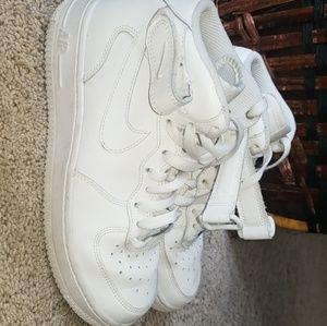 Nike air force 1 high top size 5y